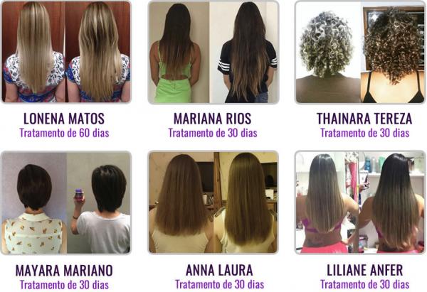 antes e depois luminus hair