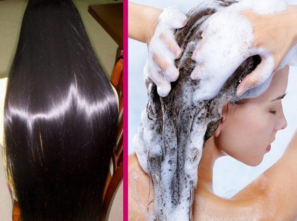 shampoo misturado com minoxidil